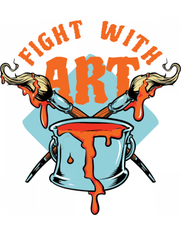 Fight with art