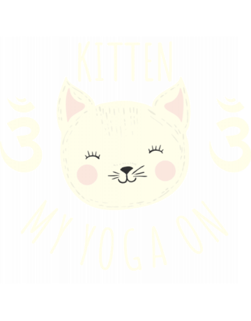 Kitten my yoga on