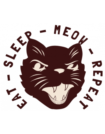 Eat sleep meow repeat