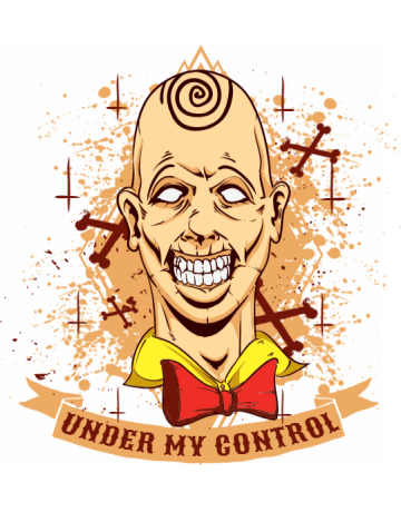Trippy clown