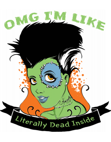 literally dead inside