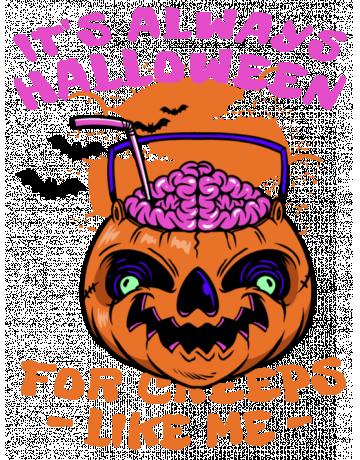 It's always halloween