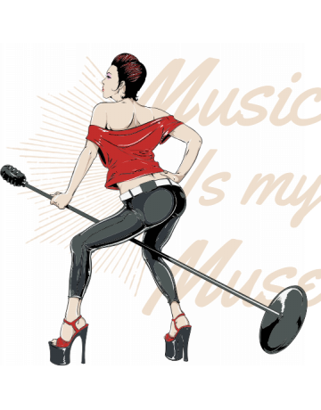 Music is may muse