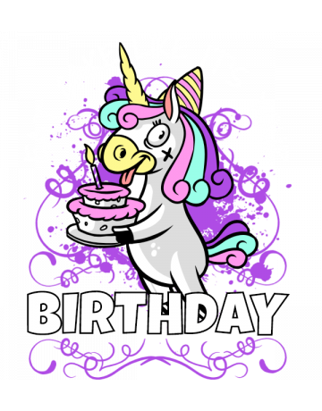 Eat cake like it's your birthday
