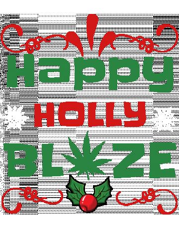 Happy holly blaze