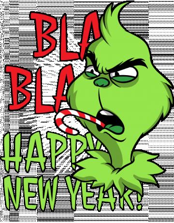 Happy Grinch new year