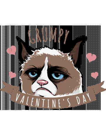 Grumpy Valentine's day