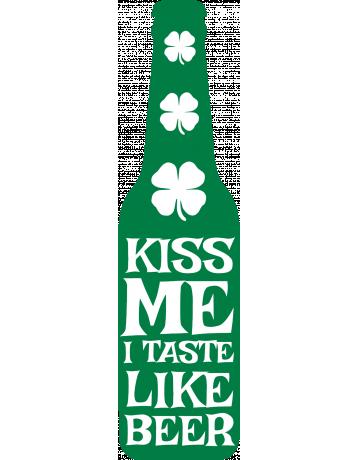I taste like beer
