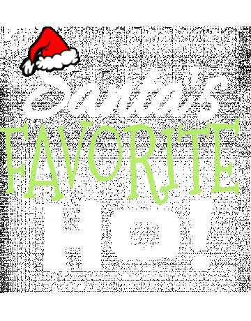 Santa s favorite ho